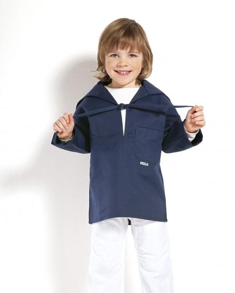Kinder-Freizeithemd marine blau Hemd Modas