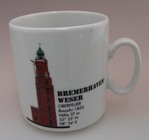 Leuchtturm Becher Bremerhaven Oberfeuer Nordsee
