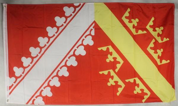 Flagge Fahne : Elsass Frankreich