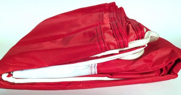 Flagge Reichsflagge Querformat 335x200cm Glanzpolyester schwarz weiß rot