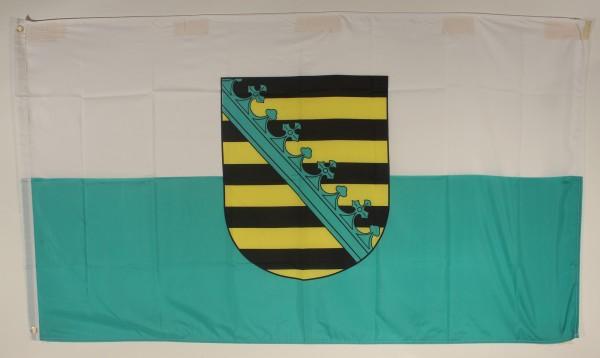 Sachsen Flagge Großformat 250 x 150 cm wetterfest