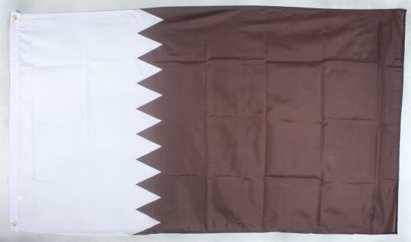 Flagge Fahne : Katar Nationalflagge Nationalfahne