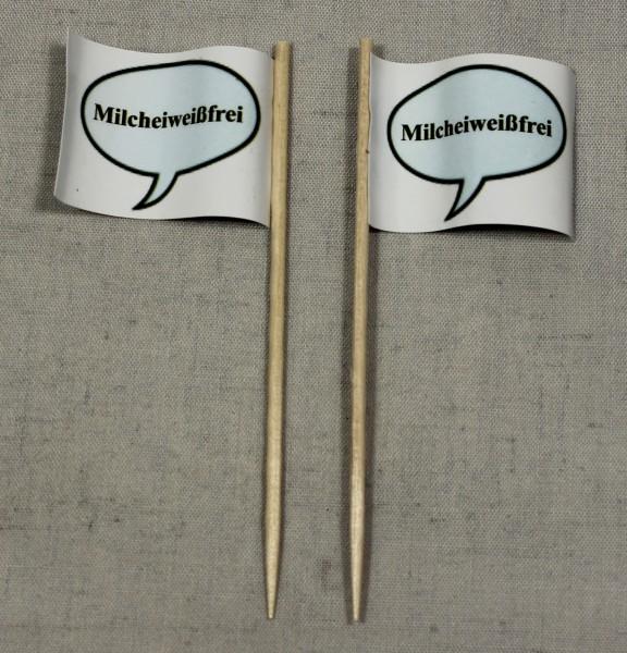Party-Picker Flagge Milcheiweißfrei Papierfähnchen in Spitzenqualität 50 Stück Beutel