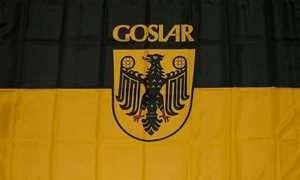 Flagge Fahne Goslar Stadtflagge