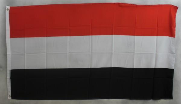 Flagge Fahne : Jemen Nationalflagge Nationalfahne