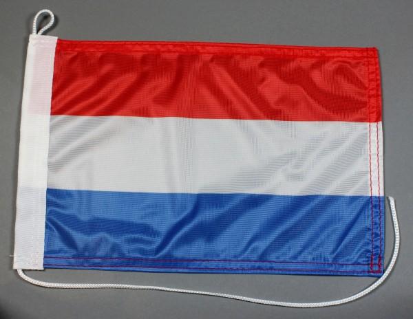 Bootsflagge : Luxemburg 30x20 cm Motorradflagge