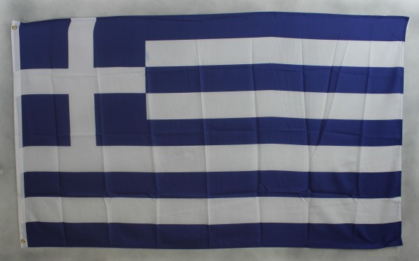 Flagge Fahne : Griechenland Nationalflagge Nationalfahne