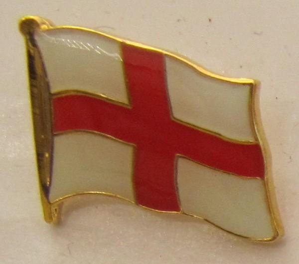 Pin Anstecker Flagge Fahne England rotes Kreuz Flaggenpin Button Badge Flaggen Clip Anstecknadel