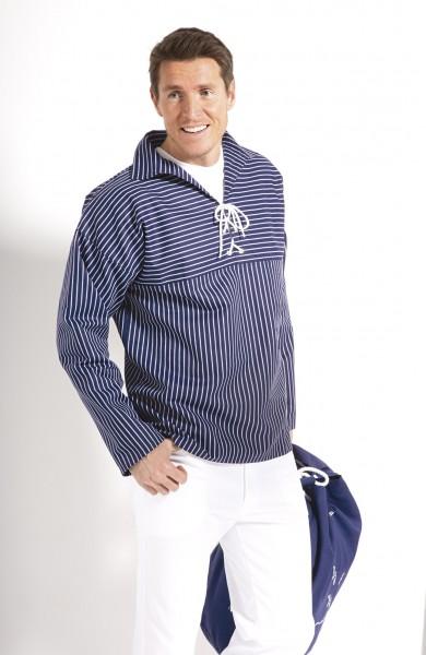 Takelhemd mit Kordelschnürung breit oder schmal gestreift von Modas alle Größen
