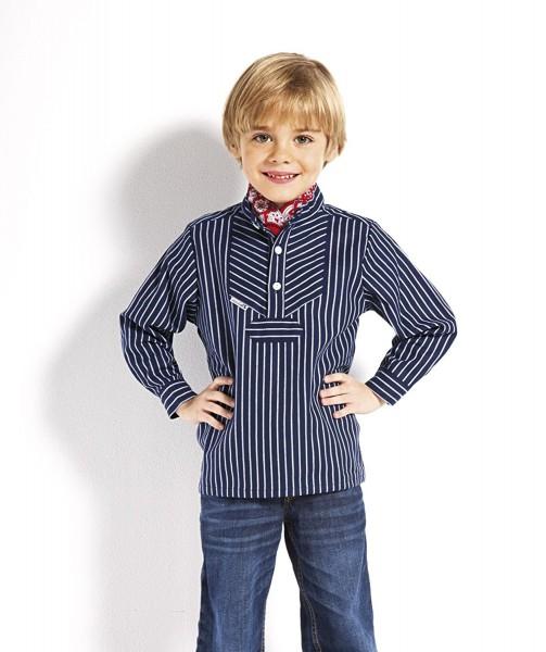 Kinder Fischerhemd breitgestreift Kinderkleidung Hemd alle Größen original Modas Buscherump