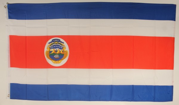Flagge Fahne : Costa Rica Nationalflagge Nationalfahne