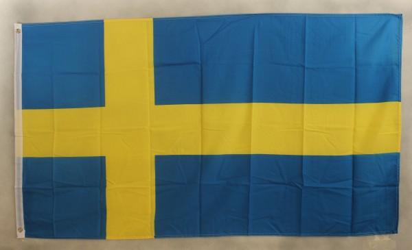 Flagge Fahne Schweden 90x60 cm