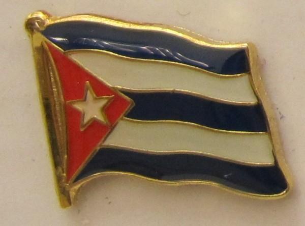 Kuba Pin Anstecker Flagge Fahne Nationalflagge
