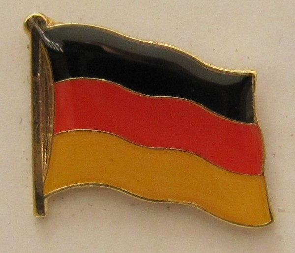 Pin Anstecker Flagge Fahne Deutschland Nationalflagge Flaggenpin Button Badge Flaggen Clip Ansteckna