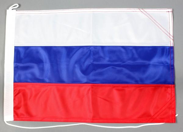 Bootsflagge Russland 30x45 cm Motorradflagge Bootsfahne