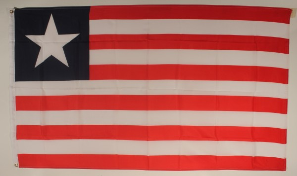 Flagge Fahne : Liberia Liberiaflagge Nationalflagge Nationalfahne