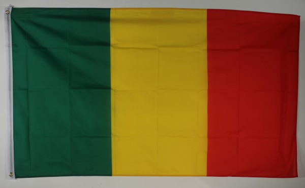 Flagge Fahne Mali Maliflagge Nationalflagge Nationalfahne