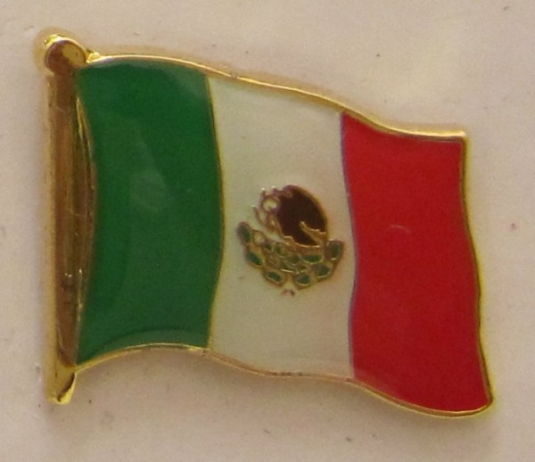 Mexiko Pin Anstecker Flagge Fahne Nationalflagge