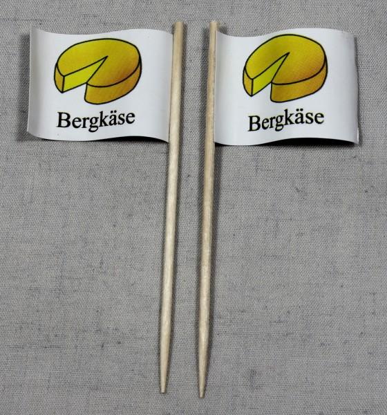 Party-Picker Flagge Bergkäse Papierfähnchen in Spitzenqualität 50 Stück Beutel