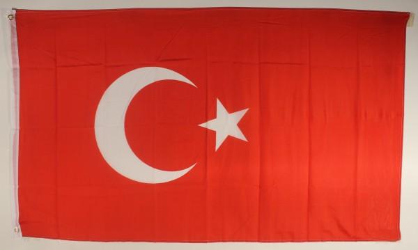 Flagge Fahne Türkei 90x60 cm