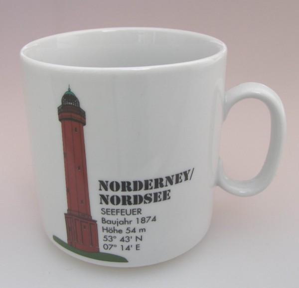 Leuchtturm Becher Norderney Nordsee