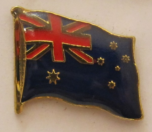 Australien Pin Anstecker Flagge Fahne Nationalflagge