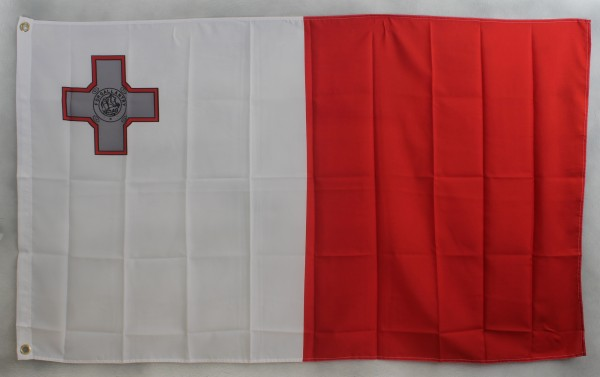 Flagge Fahne : Malta Maltaflagge Nationalflagge Nationalfahne