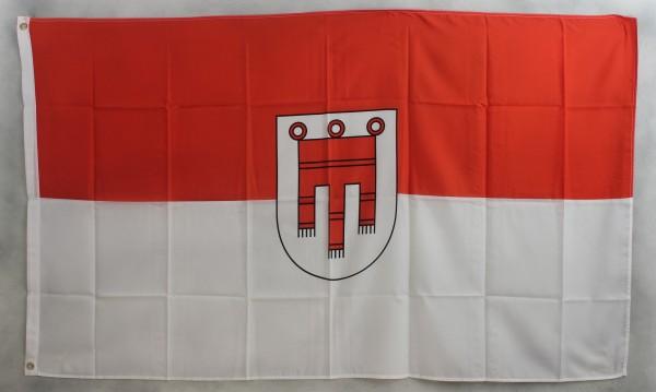 Flagge Fahne : Vorarlberg Wappen Österreich Vorarlbergflagge
