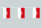 Franken Flaggenkette 6 Meter / 8 Flagge Fahne