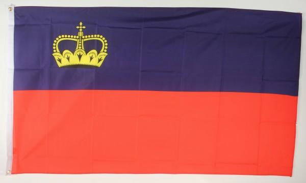 Flagge Fahne : Liechtenstein Liechtensteinflagge Nationalflagge Nationalfahne