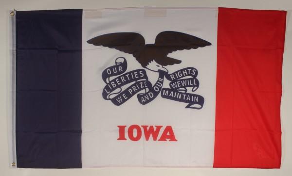Flagge Fahne : Iowa