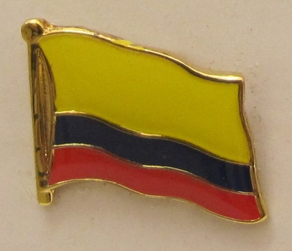 Flaggen-Pin//Anstecker Belize vergoldet