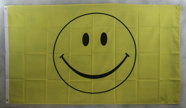 Flagge Fahne : Smiley Smily