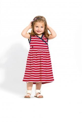 Bretonisches Kinder Kleid gestreift Kinderkleid verschiedene Farben & Größen