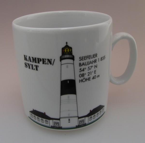 Leuchtturm Becher Kampen Sylt / Nordsee