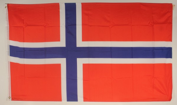 Flagge Fahne : Norwegen Norwegenflagge Nationalflagge Nationalfahne