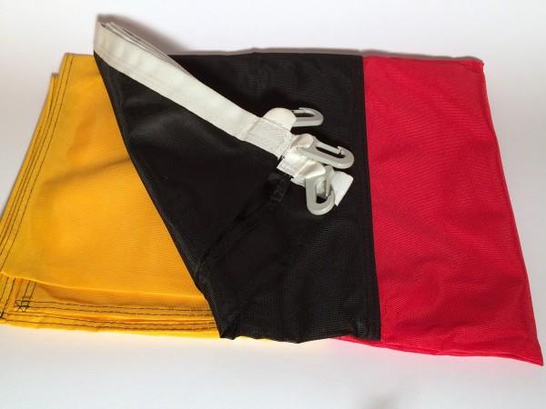 Flagge Deutschland Hochformat 80x200cm Glanzpolyester