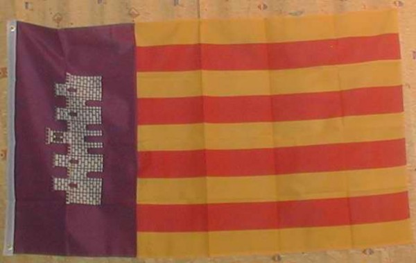 Flagge Fahne : Mallorca Mallorcaflagge Inselflagge