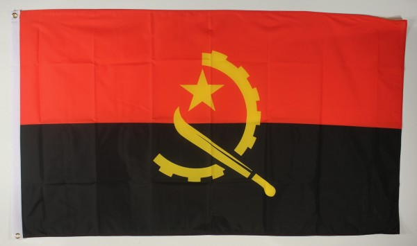 Flagge Fahne Angola 90x60 cm