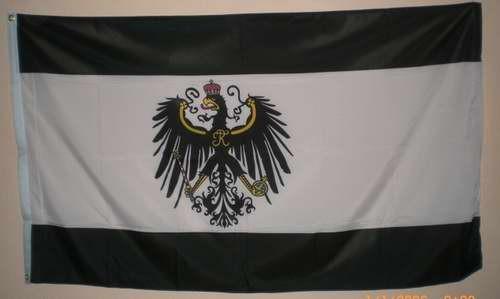Flagge Fahne Königreich Preussen mit Adler