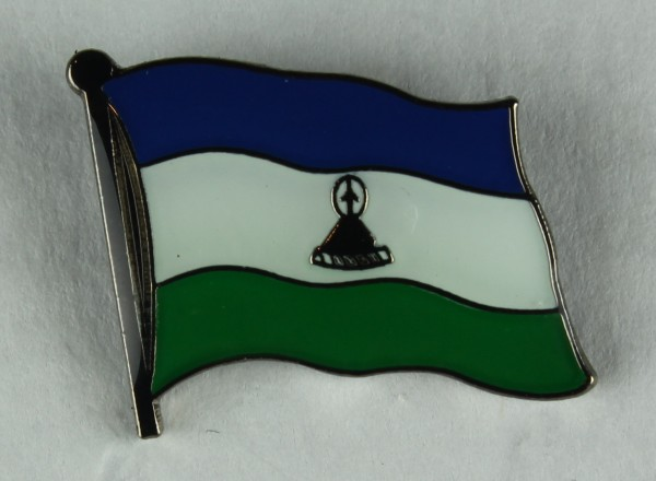 Lesotho Pin Anstecker Flagge Fahne Nationalflagge
