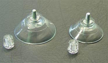 Haftsauger für Lochung 4,2 mm Ø (Scheibenbefestigung)