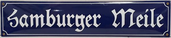 Straßenschild Höhe 15 cm mit Wunschnamen Text nach Wunsch Emaille Schild Emaile