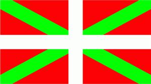 Flagge Fahne Baskenland 90x60 cm