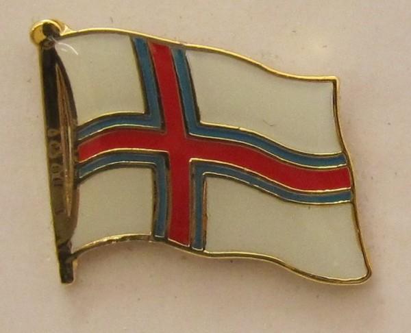 Pin Anstecker Flagge Fahne Faroer Flaggenpin Button Badge Flaggen Clip Anstecknadel