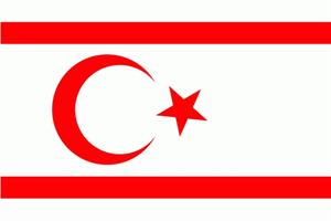 Flagge Fahne : Nordzypern (Türkische Republik) Nord Zypern Nationalflagge