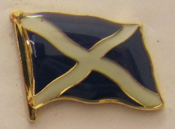 Pin Anstecker Flagge Fahne Schottland St. Andrews Kreuz