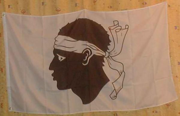 Flagge Fahne Korsika 90x60 cm