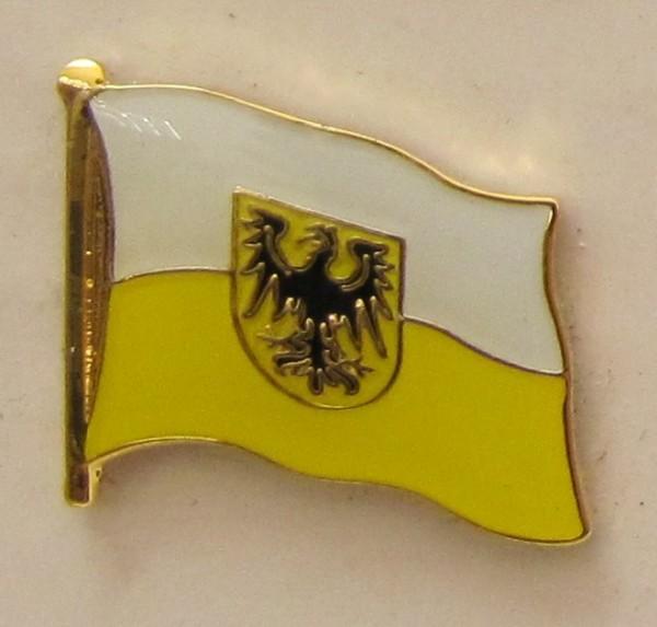 Pin Anstecker Flagge Fahne Nieder Schlesien Niederschlesien
