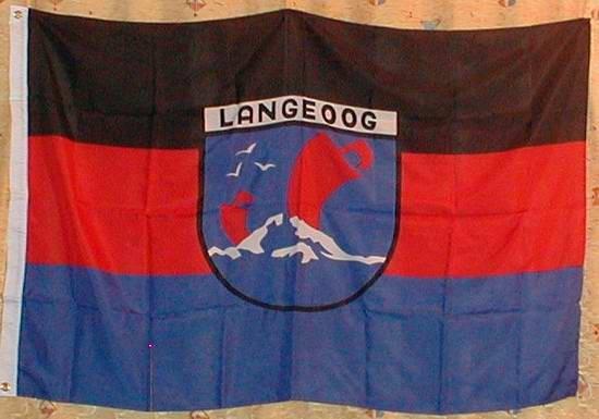 Flagge Fahne Langeoog Nordsee